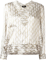 Isabel Marant Simon blouse - women - Silk - 36