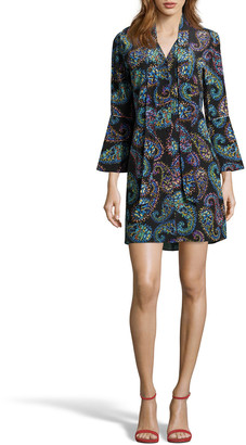 Robert Graham Brenna Paisley Print Shirtdress