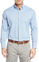 Peter Millar Men's Regular Fit Check Sport Shirt
