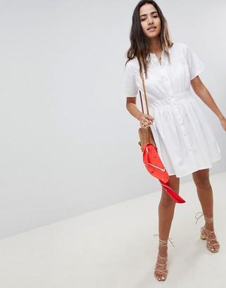 Asos DESIGN Cotton Casual Shirt Mini Dress