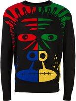 Moschino monkey intarsia jumper - men - Virgin Wool - 50