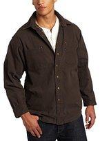Wolverine Key Apparel Men's Flannel Lined Duck Shirt Jacket