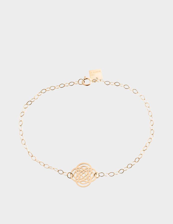 ginette_ny Purity 18-karat rose gold bracelet