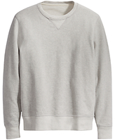 Levi's Made & Crafted Crew Neck Jumper, Grey Heather