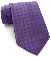 Calvin Klein Mirror Square Silk Tie