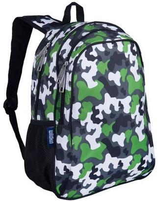 Wildkin Green Camo 15 Inch Backpack