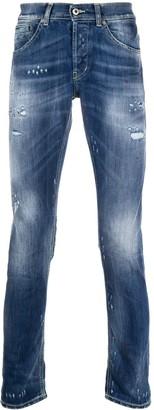 Dondup Stonewahsed Slim Jeans