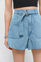 Wrangler Hi Bells High-Waisted Belted Short