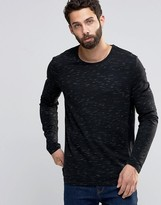 ONLY & SONS Knitted Sweater in Mixed Slub Yarns