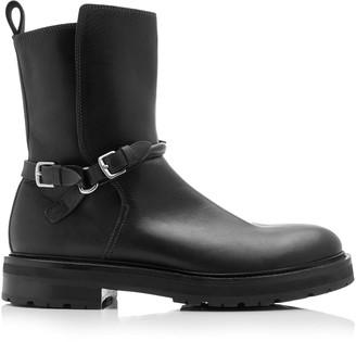 Bottega Veneta Buckled Leather Boots