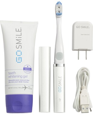 Go Smile Dental Pro On-the-Go - Sonic Blue Teeth Whitening System