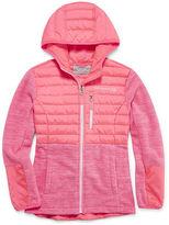 Free Country Girls Lightweight Fleece Jacket-Big Kid