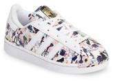 adidas Girl's Graphic Superstar Sneaker