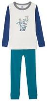 Petit Bateau Boys placement print pyjamas