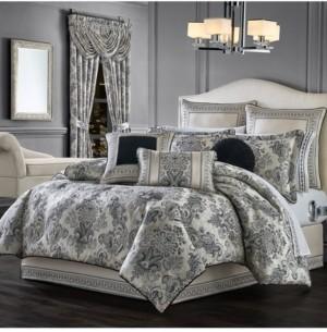 J Queen New York Annette Queen 4Pc. Comforter Set Bedding