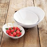 Sur La Table Blanc Slant Bowls