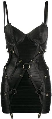 Bordelle Angela corset slip dress