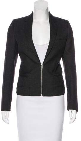 Christian Dior Wool Zip Blazer