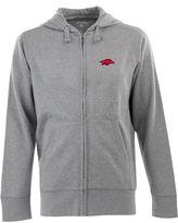 Antigua Men's Arkansas Razorbacks Signature Full-Zip Fleece Hoodie
