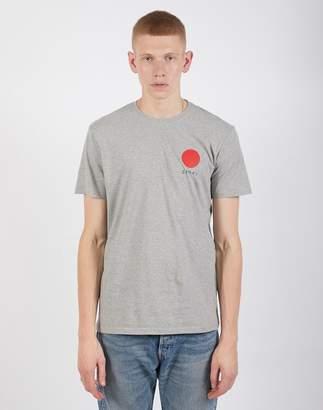 Edwin Japanese Sun T Shirt Grey