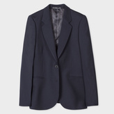 Paul Smith A Suit To Travel In - Women's Navy Two-Button Wool Blazer
