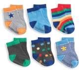 Elegant Baby Baby's Primary 6-Pack Sock Set