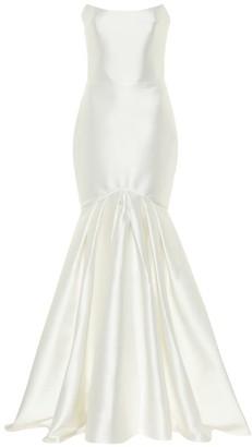 Rasario Exclusive to Mytheresa - Satin gown