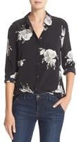 Equipment Women's Reese Floral Silk Shirt