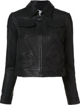A.L.C. zipped leather jacket