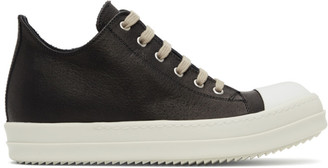 Rick Owens Black Low Sneakers