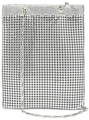 Paco Rabanne Pixel Metal-chainmail Tote - Silver Multi