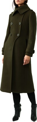 Mackage Double Breasted Military Maxi Coat