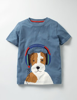Boden Music Appliqué T-shirt