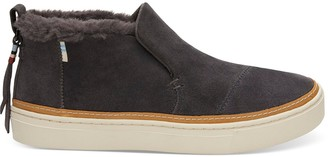 Forged Iron Grey Suede Women's Paxton Slip-Ons
