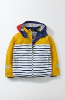 Boy's Mini Boden Jersey Lined Anorak