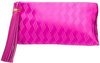 ATTICO Textured Zip-Up Clutch Bag
