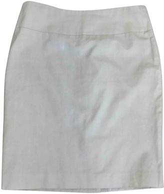 Clements Ribeiro Ecru Cotton Skirt for Women