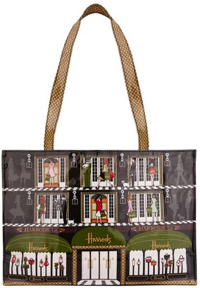 Harrods Elevators Shoulder Tote Bag