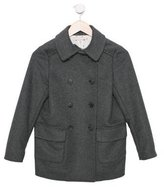 Bonpoint Girls' Wool Double-Breasted Coat