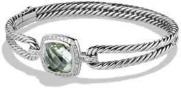 David Yurman Albion Bracelet with Faceted Prasiolite