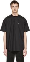 DSQUARED2 Black Poplin T-shirt