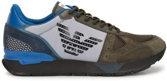 Emporio Armani Colour-Clock Low-Top Sneakers
