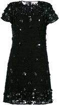 MICHAEL Michael Kors floral appliqué lace dress - women - Polyester - XS
