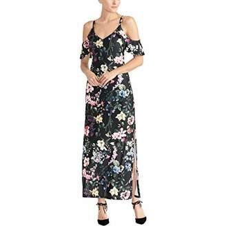 Rachel Roy Women's Gaia Printed Jersey Maxi Dress
