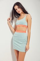 Ecote Rising Tide Cropped Top Two-Piece Set