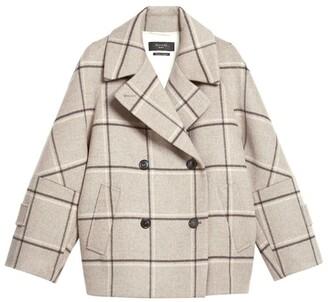 Max Mara Atalia Short Pea Coat