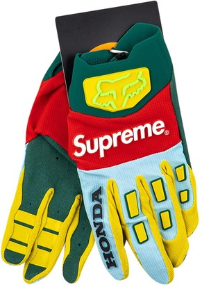 Supreme x Honda Fox racing gloves