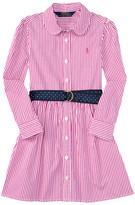 Polo Ralph Lauren Yarn-Dyed Bengal Stripe Dress (Toddler)