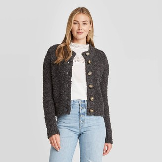 Universal Thread Women's Button-Front Cropped Cardigan - Universal ThreadTM