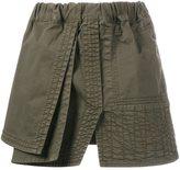 No.21 overlay skirt - women - Cotton - 44